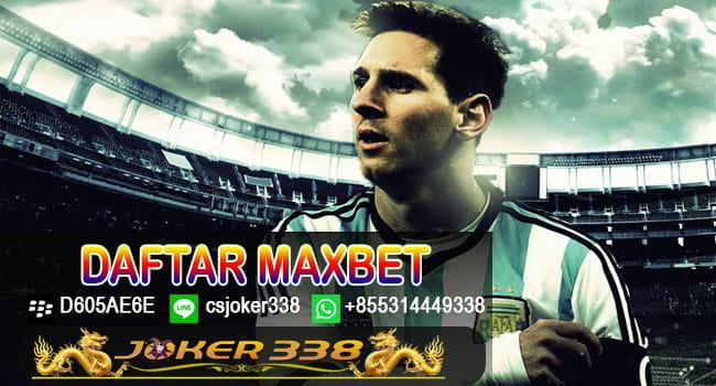 Daftar Maxbet